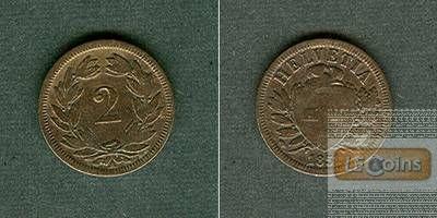SCHWEIZ 2 Rappen 1851 A  ss