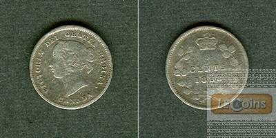 CANADA / KANADA 5 Cents 1888  ss-