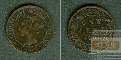 CANADA / KANADA 1 Cent 1895  ss+