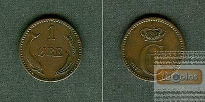 DÄNEMARK 1 Öre 1889 CS  vz