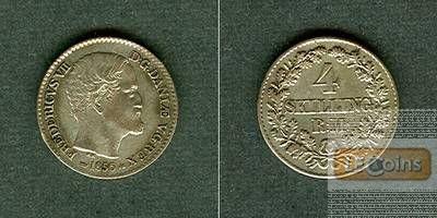 DÄNEMARK 4 Skilling 1856 VS  vz+