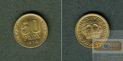 JUGOSLAWIEN 50 Para 1938  stgl.
