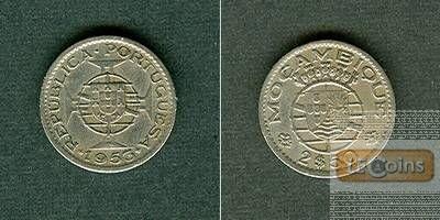 MOZAMBIQUE 2,50 Escudos 1953  ss-vz