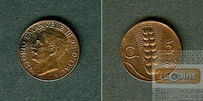 ITALIEN 5 Centesimi 1920 R  stgl.