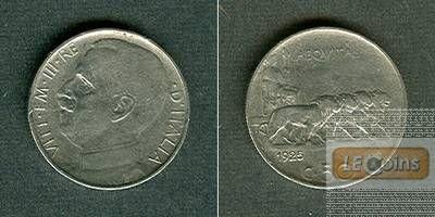 ITALIEN 50 Centesimi 1925  ss  selten