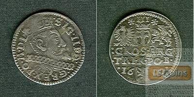 POLEN 3 Groschen 1600 B  f.vz