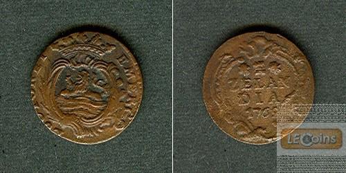 NIEDERLANDE Zeeland 1 Duit 1769  ss/ss-vz