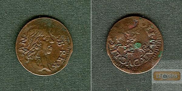 LITAUEN Schilling / Solidus 1649-1668  ss