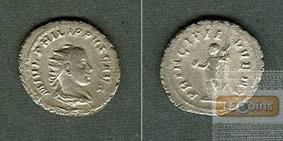 M. Julius Severus PHILIPPUS II. Filius  Antoninian  ss+  [244-246]