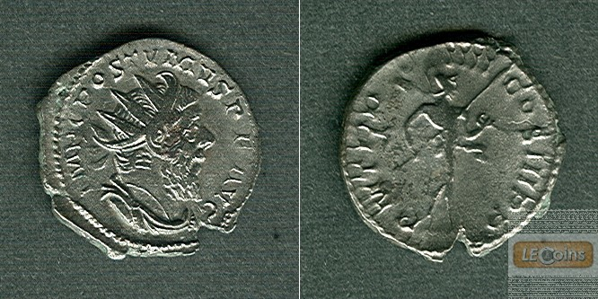 M. Cassianius Latinius POSTUMUS  Antoninian  ss+/ss  [259-268]