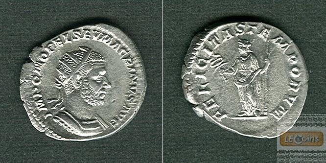 Marcus Opelius Severus MACRINUS  Antoninian  f.vz  selten!  [217-218]