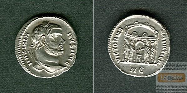 Marcus Aurelius Valerius MAXIMIANUS (Herculius)  Silber Argenteus  f.vz/vz  selten!  [294]