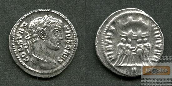 Flavius Valerius CONSTANTIUS I. (Chlorus)  Argenteus  vz-stgl.!  selten!  [295-297]