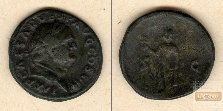 Titus Flavius VESPASIANUS  As  ss+  [76]