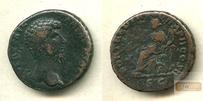 LUCIUS (Aurelius) VERUS  As  ss/ss-  [164-165]