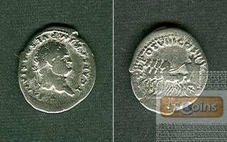 TITUS Flavius Vespasianus  Denar  selten  [79]