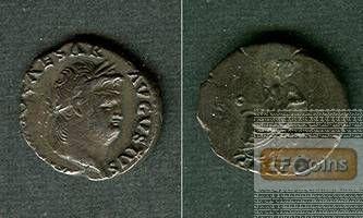 NERO Claudius Caesar  Denar  ss+  selten  [65-66]