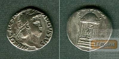 NERO Claudius Caesar  Denar  ss+  selten!  [65-66]