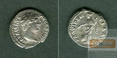 Publius Aelius HADRIANUS  Denar  f.vz  [134-138]