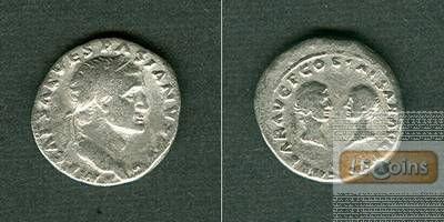 Titus Flavius VESPASIANUS  Denar  f.ss  selten!  [69-71]