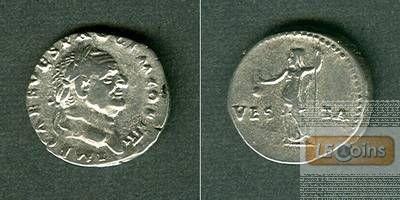 Titus Flavius VESPASIANUS  Denar  ss-vz  [72-73]