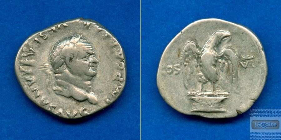 Titus Flavius VESPASIANUS  Denar  ss-vz/ss+  [76]