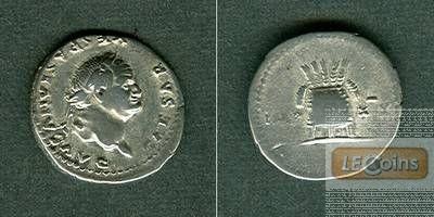 Titus Flavius VESPASIANUS  Denar  ss+/ss  [77-78]