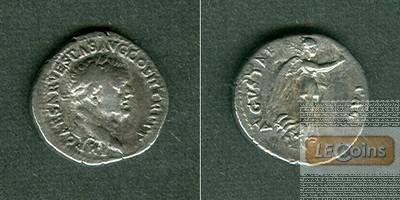 Titus Flavius VESPASIANUS  Denar  ss+  selten  [70]