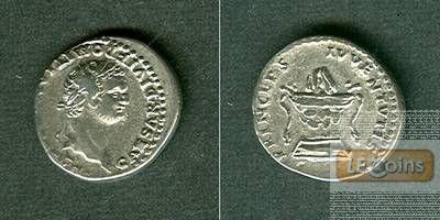Titus Flavius DOMITIANUS  Denar  ss+/vz-  [80]