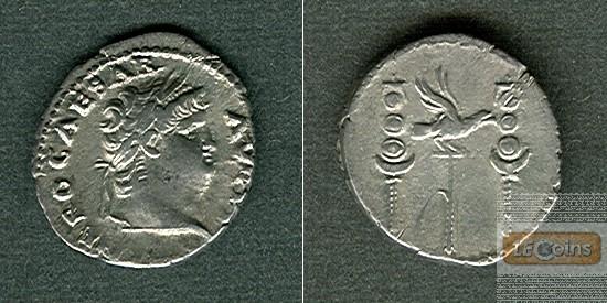 NERO Claudius Caesar  Denar  ss-vz sehr selten  [67-68]