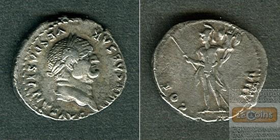 Titus Flavius VESPASIANUS  Denar  ss+  [77-78]