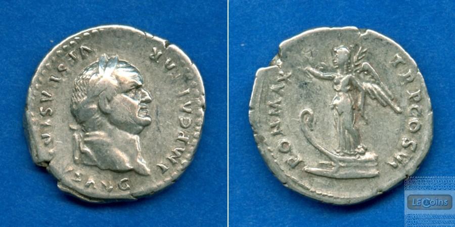 Titus Flavius VESPASIANUS  Denar  ss-vz  [74-75]