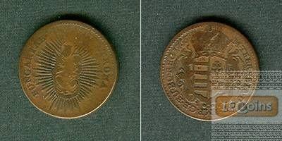 Österreich Ungarn RDR Denar 1766  s/s-ss
