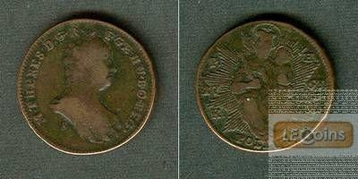 Österreich Ungarn RDR Poltura 1763 S s-ss