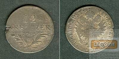 Österreich RDR 12 Kreuzer 1795 E (Ungarn)  s-ss