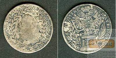 Österreich RDR 20 Kreuzer 1764 KB (Ungarn) f. Lothringen  f.ss