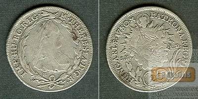 Österreich RDR 20 Kreuzer 1780 B (Ungarn) ss