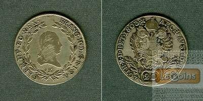 Österreich RDR 20 Kreuzer 1803 E (Ungarn) s-ss