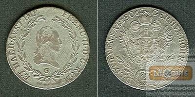 Österreich RDR 20 Kreuzer 1806 G (Ungarn) ss