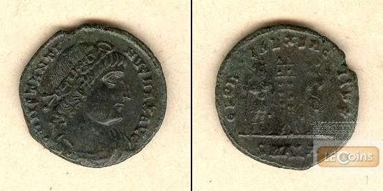 Flavius Valerius CONSTANTINUS I. (der Große)  Follis  selten  vz/ss+  [306-337]