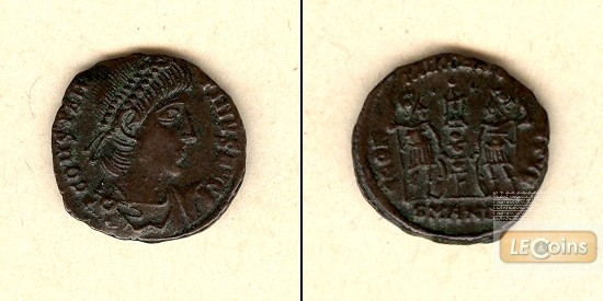 Flavius Valerius CONSTANTINUS I. (der Große)  Follis  selten  vz  [337-347]