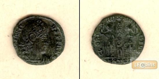 Flavius Julius CONSTANTIUS II.  Follis  f.vz  [324-361]