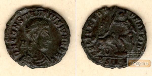 Flavius Claudius CONSTANTIUS GALLUS  Follis  ss+/ss  [351-354]