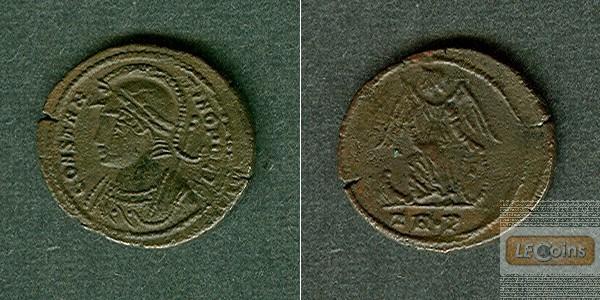 Flavius Valerius CONSTANTINUS I. (der Große)  Follis  CONSTANTINOPOLIS  f.vz  [332-333]