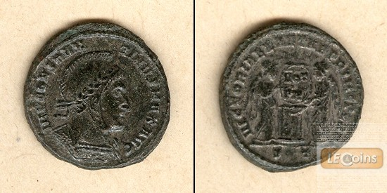 Flavius Valerius CONSTANTINUS I. (der Große)  Follis  f.vz  selten!  [318-319]