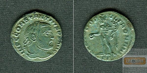 Flavius Valerius CONSTANTIUS I. (Chlorus)  1/4 Follis  selten!  f.vz/vz  [305-306]