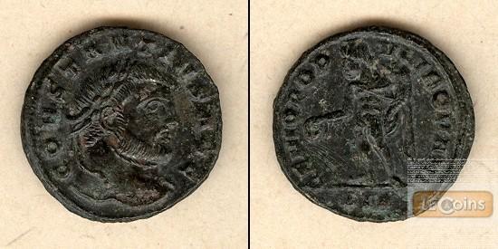 Flavius Valerius CONSTANTIUS I. (Chlorus)  1/4 Follis  selten!  vz-  [305-306]