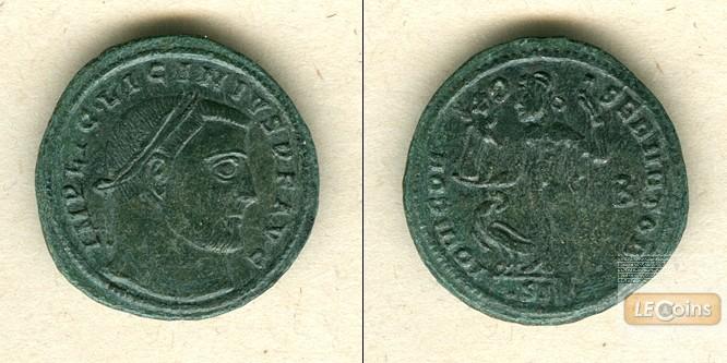Valerius Licinianus LICINIUS I.  Follis  f.vz  selten!  [315-316]