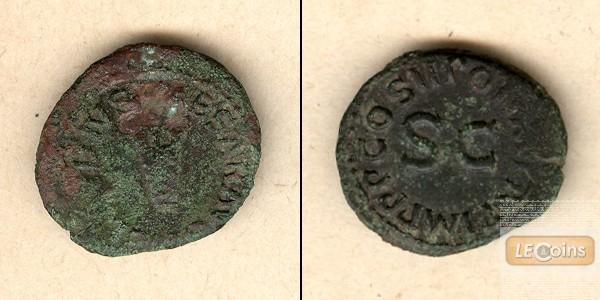 Tiberius CLAUDIUS (I.) Nero Germanicus  Quadrans  [41-42]