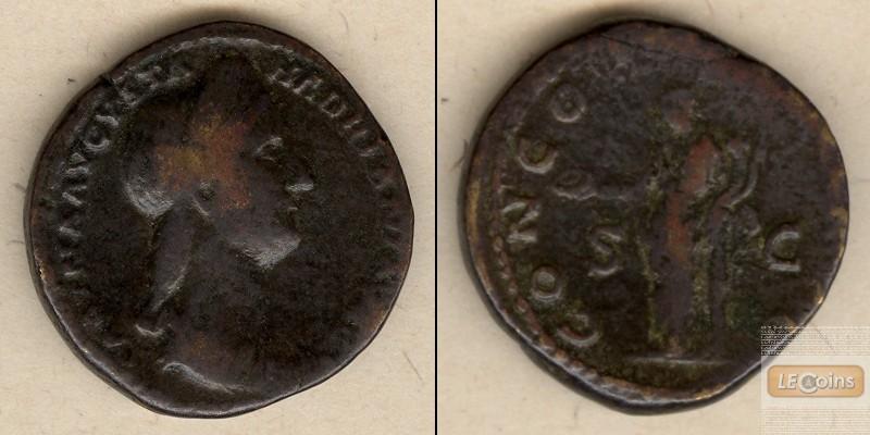 Vibia SABINA  Sesterz  selten  [117-138]